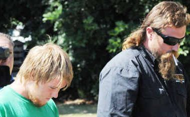 Andrew Christopher Cook, 33 (right) and Zachery Hudson, 17, faced Gatton Magistrates Court.