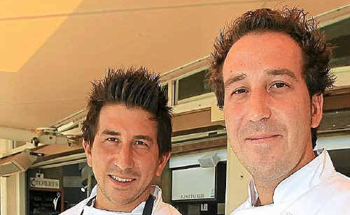 Canadian chefs, twin brothers Chad and Clayton Klyne.