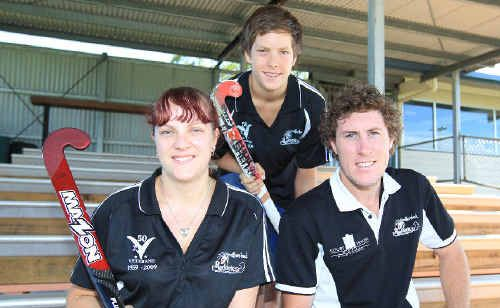 Redbacks Chloe Wotherspoon, Blake Wotherspoon and Ryan Farrell gear up for the season ahead.