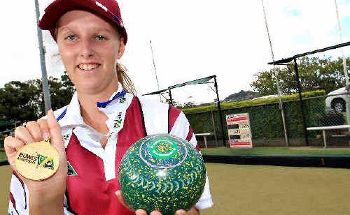 South Tweed bowler Crystal Martin
