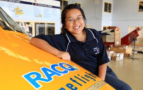 FLYING HIGH: Youth Leadership Award nominee Alex Jih.