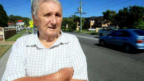 LONG HAUL: Long-time resident of Kennedy Drive Kevin Roberts has watched the road grow from the narrow bitumen road it was 61 years ago to the traffic congested road it is today.