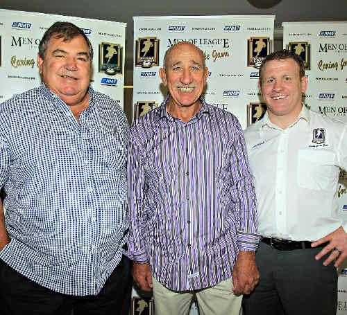 BIG CHANGES: MOL's Jim Hall, Neil Pringle and Martin Cook.