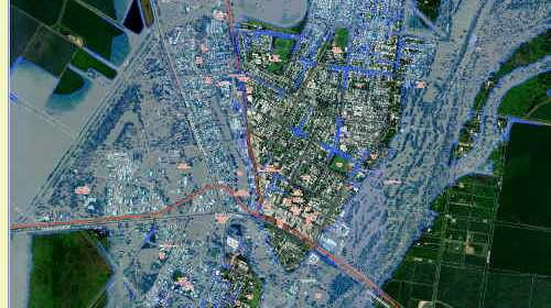 CREEPING TIDE: New maps mean residents will have more of a chance to predict inundation levels. cont