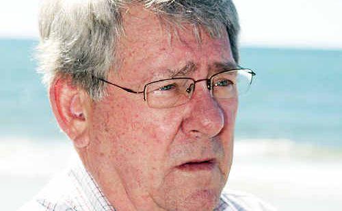 Retiring QRL boss Ross Livermore.