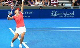 Aussie Sam Stosur at the Brisbane International 2011