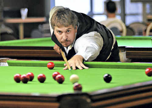 Greg Schalk is the reigning Bill Ellis Snooker Championship winner.