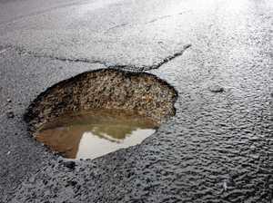Drive safe, more potholes to come
