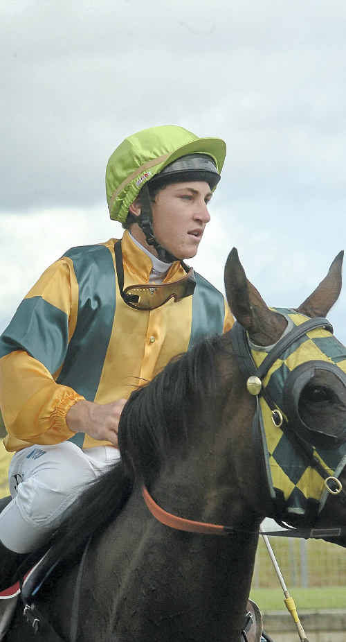 Jockey Jamie Quinnell has a perfect opportunity to double up at today's Coffs Harbour TAB meeting.