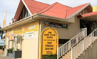 The thief escaped with a large sum of money from the Kirra Surf Life Saving Club.