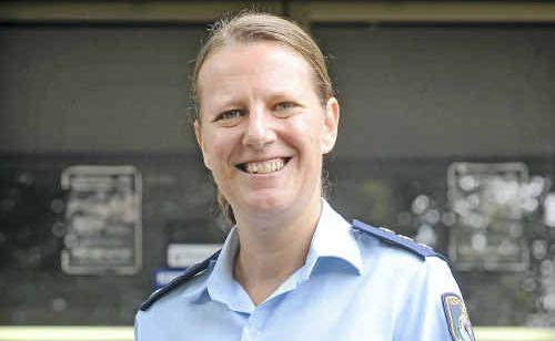 Inspector Joanne Reid at Grafton Police Station.