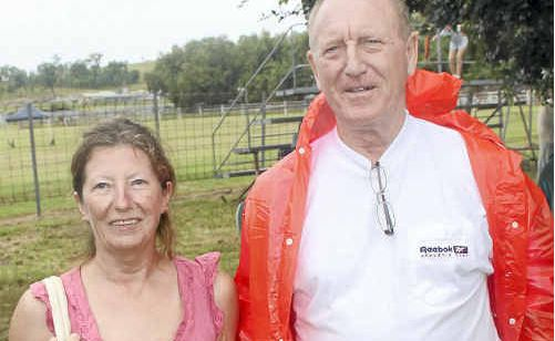 Maureen and Alan Chaplin picked up a Goomeri land bargain at auction on the weekend.