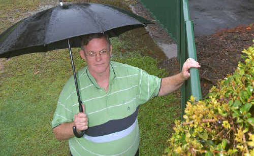 Brian Fitzgerald wants gate to Gardenia Place opened allowing extra to Sunshine Coast Grammar.