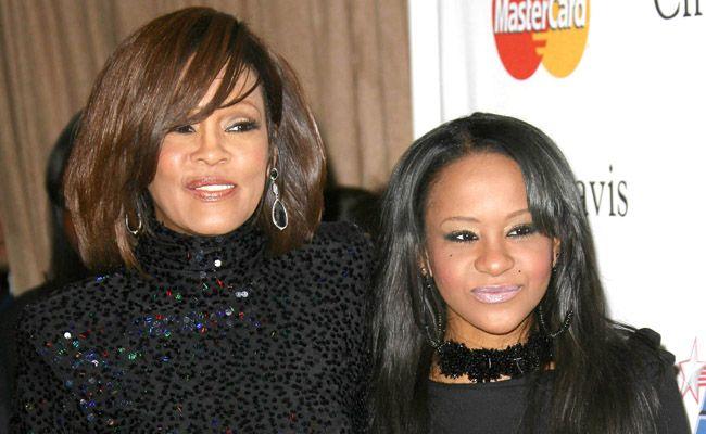 Whitney Houston and Bobbi Kristina 'Krissi' Brown