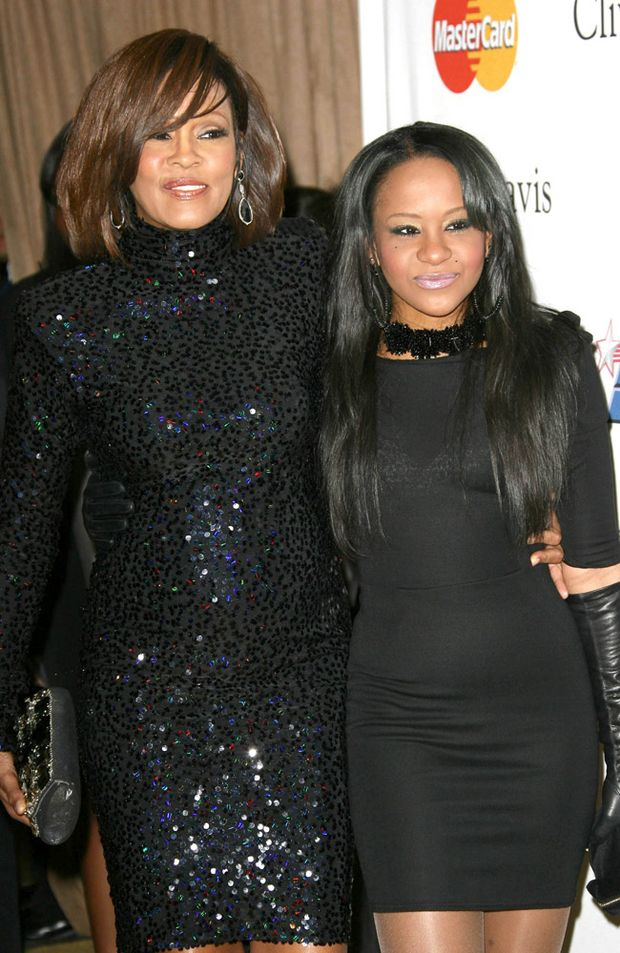 Whitney Houston and Bobbi Kristina 'Krissi' Brown