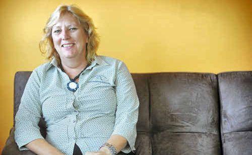 CEO of Caringa Enterprises Ltd Janet Ocholla steered clear of yesterday's celebrations.
