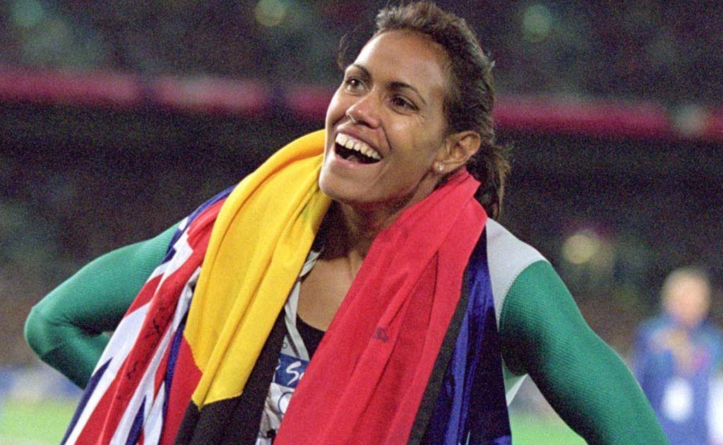 Former Mackay runner Cathy Freeman.