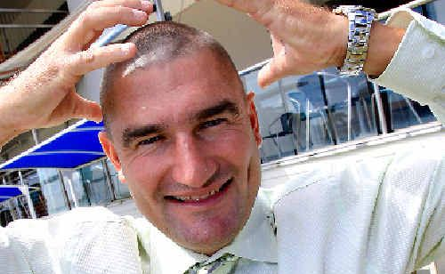 Golden Nugget king Kelvin Kerkow has given up his renowned hairstyle.