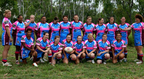 The Central Highlands Women's Rugby League side got in some good early-season match fitness taking on Bundaberg in Bluff at the weekend.