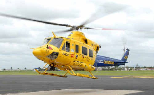 A school boy, 15, is being flown to Townsville Hospital in a critical condition after his bike and a truck collided near Sarina.