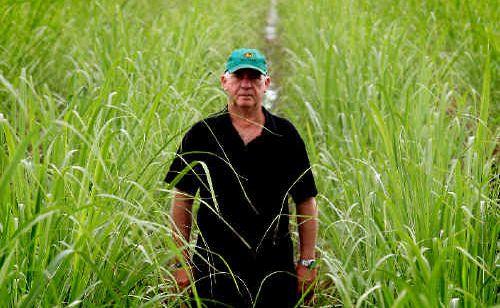 Green farmer: Sugarcane farmer Robert Quirk returned from a Bonsucro world sugar meeting in America.