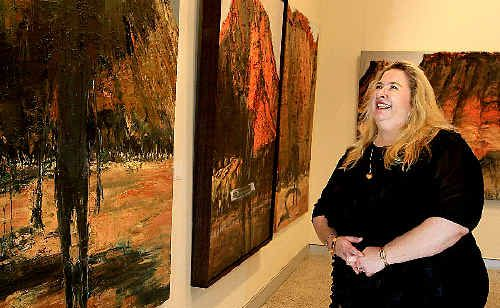 Susi Muddiman is looking forward to opportunities for the Tweed River Regional Art Gallery if she visits the Hong Kong Art Fair.