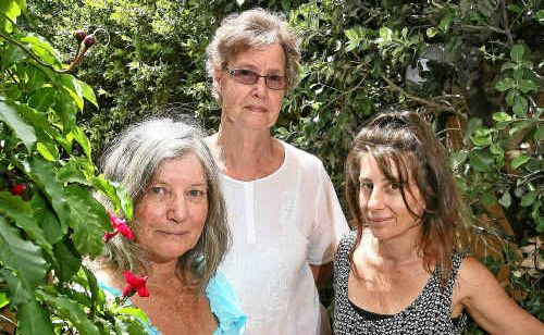 Long term Noosa residents, Paulette Andrews, Min Kanters and Heidi Andrews want a review of accommodation assessments.