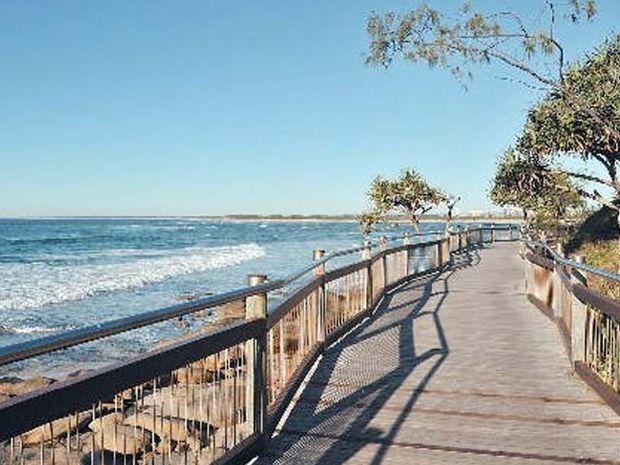 Caloundra boardwalk.