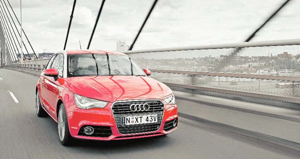 The Audi A1 shares its underpinnings with the VW Polo that has been lauded the world over.