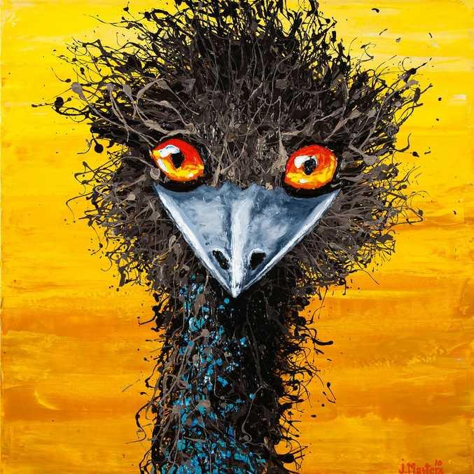 Eddie Emu by Jodi Masters.