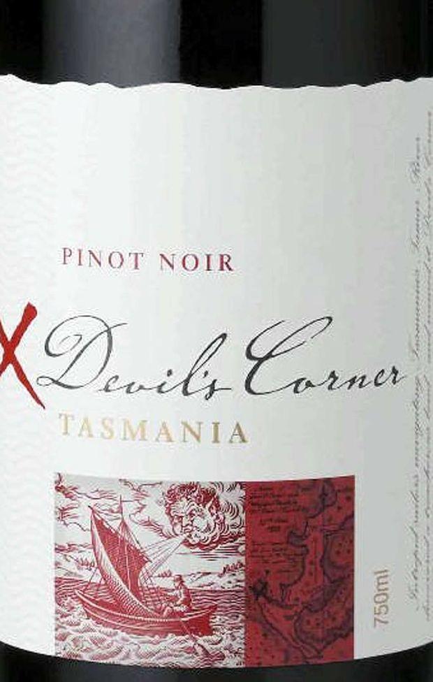 Tamar Ridge Estate's Devil's Corner 2010 Pinot Noir.