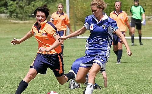 Jessica Gunning scored two great goals in the 16 girls' 4-2 win against Macquarie.