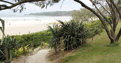 The popular Main Beach area of Byron Bay, scene of an alleged sexual assault on an 18-year-old Northern Rivers woman on Friday, March 4. Police investigating the incident are yet to speak to the alleged victim.