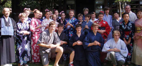 Year 9 and 10 students from Marist College visited Yokohama last year and have kept in contact with their host families.