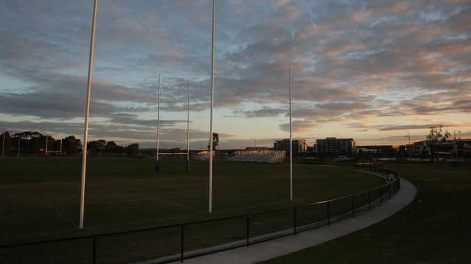 Deputy Mayor, Tim Dwyer said he sees this land housing a major sports stadium one which would, in time, complement the regional grandstand facility at Stockland Park (pictured).