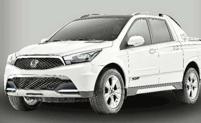 The new Ssangyong Actyon utility is likely to go on sale in Australia and across the globe from early 2012.
