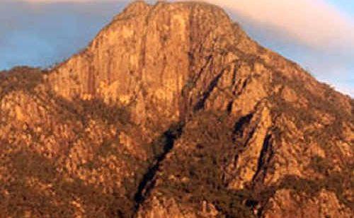 Mount Barney is under threat.