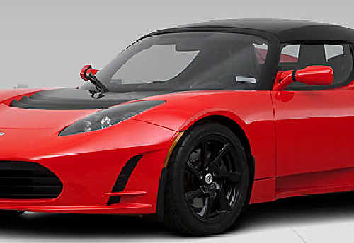 Keep an eye out for the Tesla Roadster, an electric-charged vehicle, which is travelling between Melbourne and Brisbane.