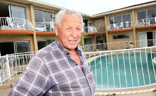 Tweed Central Hotel owner Tom Butcher is offering rooms to flood victims.