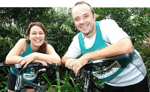 James and Kylie Burkwood are entering the Kathmandu Adventure Series in Beerburrum.