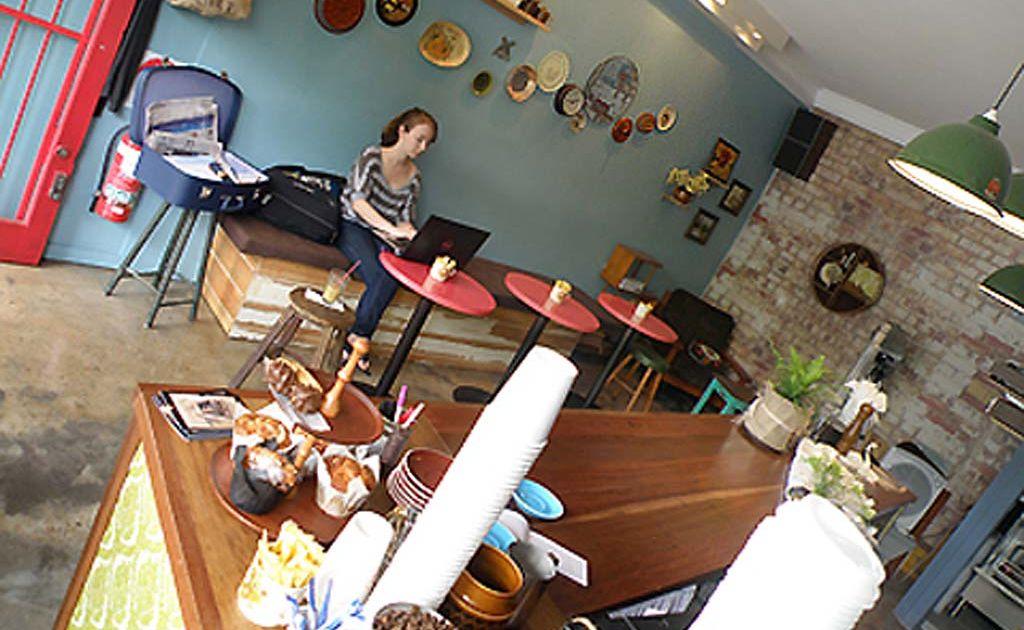 Belljar cafe in Sydney.