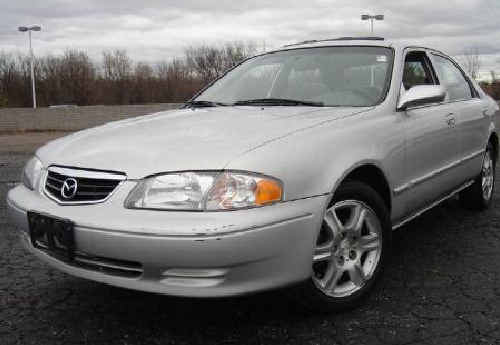 Look familiar? Police are searching for a man believed to be driving a Mazda 626 sedan, similar to the one pictured.