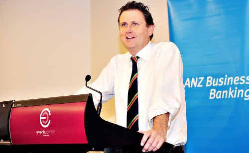 ANZ senior economist Ivan Colhoun was a guest speaker at a business breakfast at the Maroochy RSL.