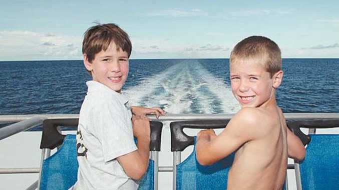 Take the kids on a trip to the reef with Cruise Whitsundays.