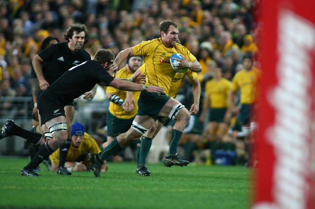 Rocky Elsom has been axed as Wallabies' captain.