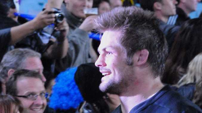 New Zealand All Black captain Richie McCaw.