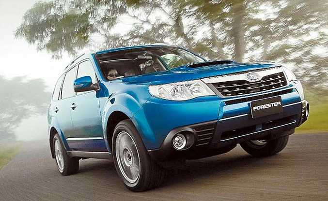 The Subaru Forester Special Edition runs the impressive WRX turbo 2.5-litre engine linked to the WRX's auto paddle-shift five speed unit and a 45/55 split AWD system.
