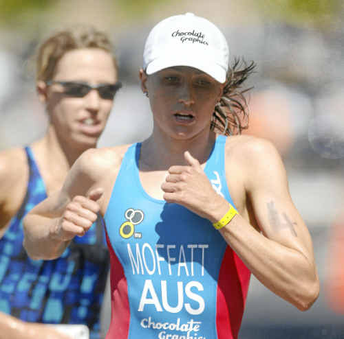 World champion and local triathlete Emma Moffatt is hoping to launch her campaign for a place in the Australian Olympic squad with a strong performance at the ITU World Cup race in Mooloolaba this weekend.