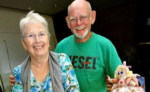Cabarita couple Colleen and Jack McArdle organised the day and helped out at the craft stalls.