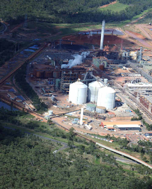 Acid that spilled from this Rio Tinto site reportedly caused little environmental damage. .